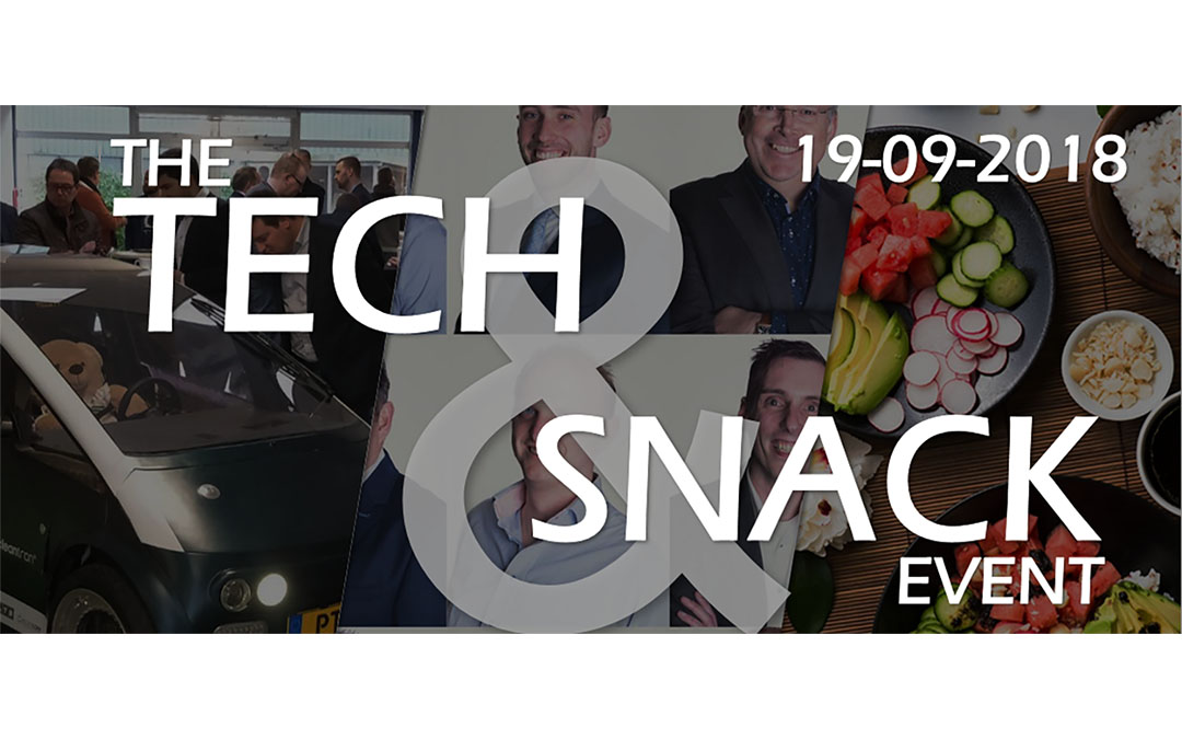 Tech & Snack: save the date!