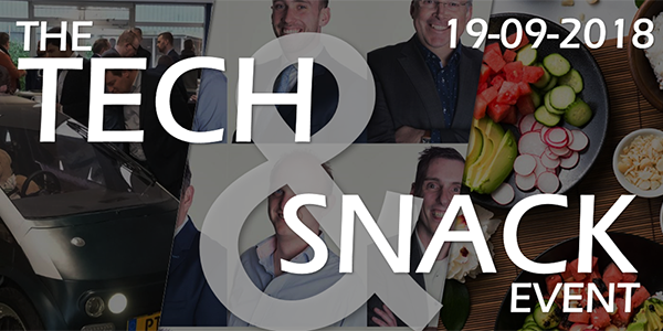 Tech & Snack event: official invitation